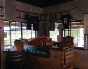 feral brewery gift shop