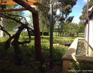 beautiful gardens sandalford winery