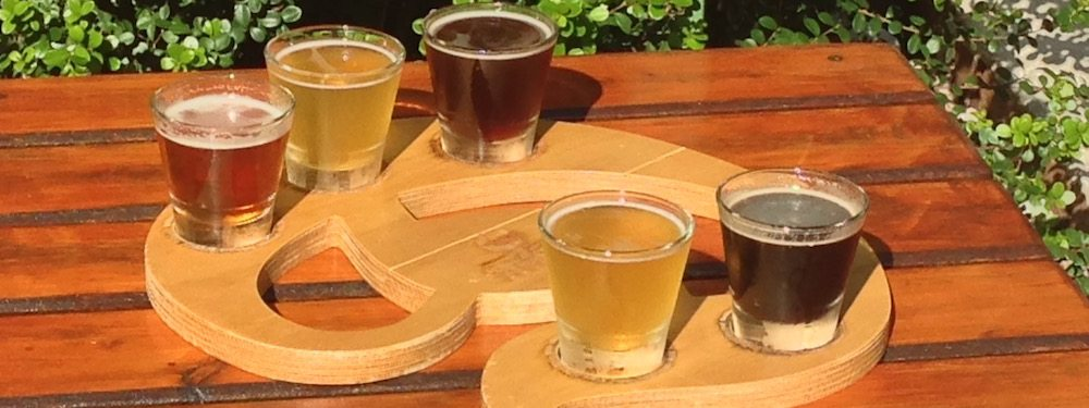 Beer Samples - Perth Brewery Tour