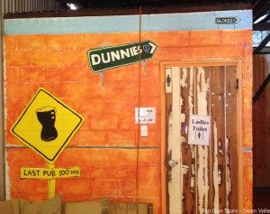 authentic aussie dunnies at ironbark brewery