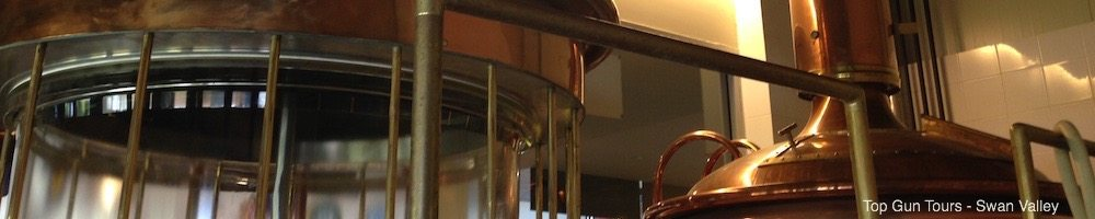 elmar's copper brewing equipment
