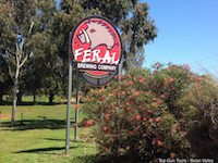 main sign at feral brewing company