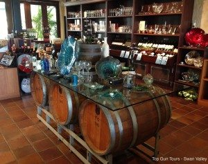 sandalford wines gift shop & cellar door