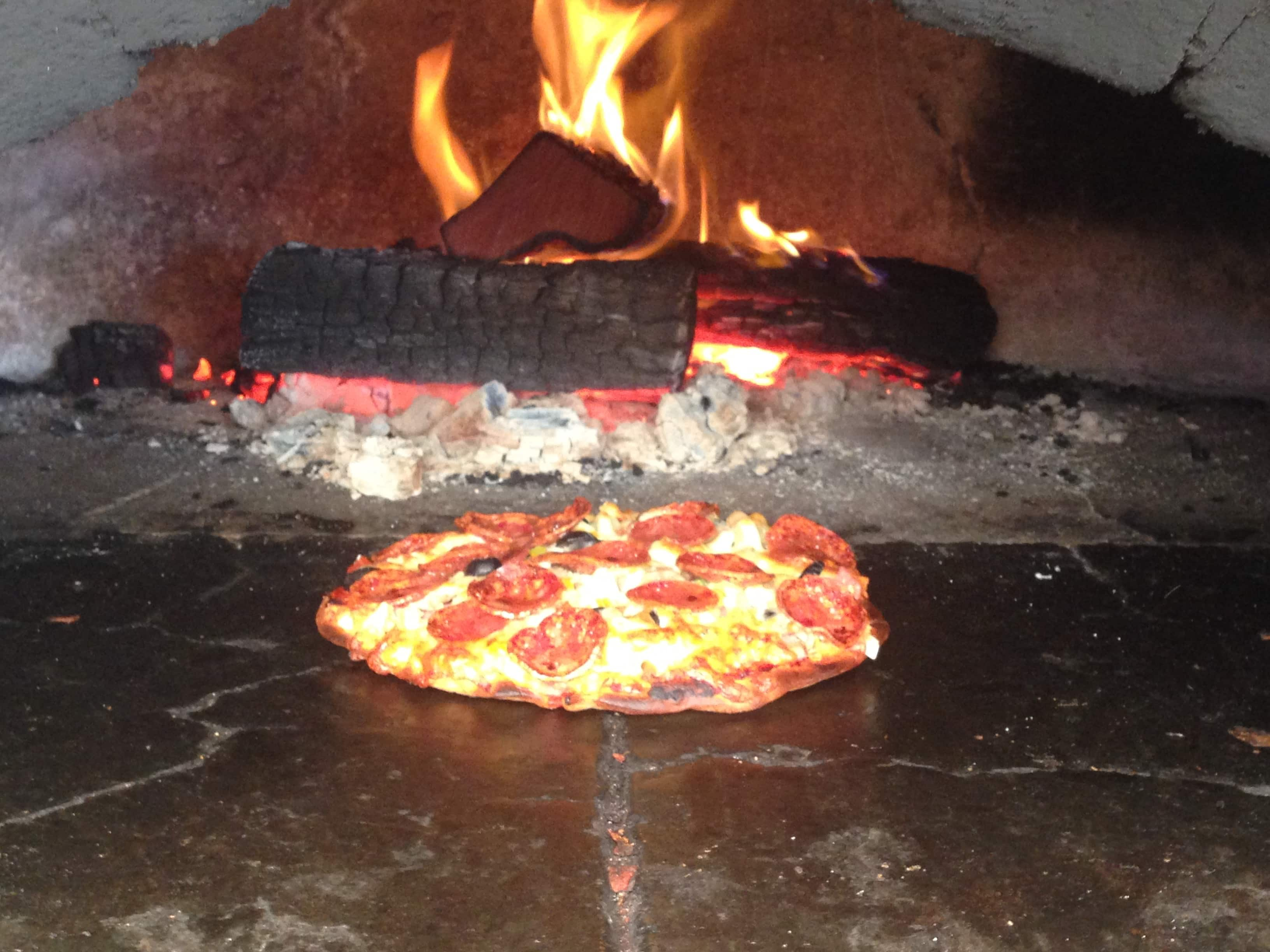 Wood Fired Pizza at Ironbark Brewery
